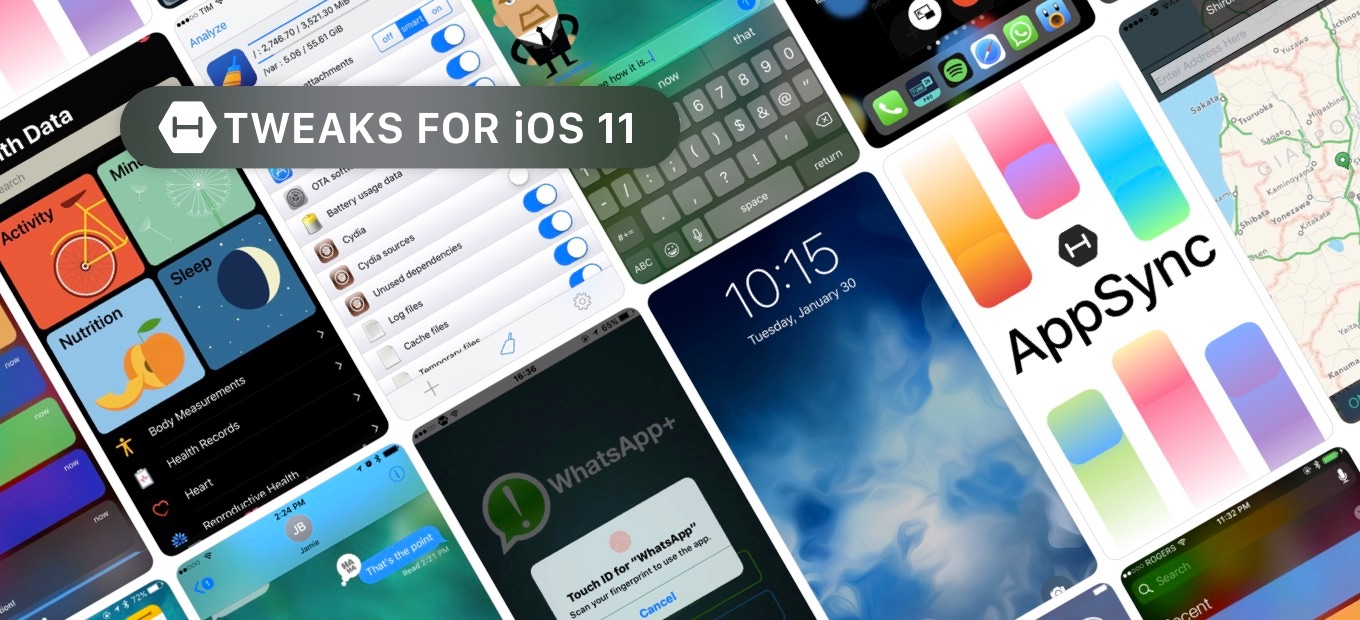 Tweaks for iOS 11