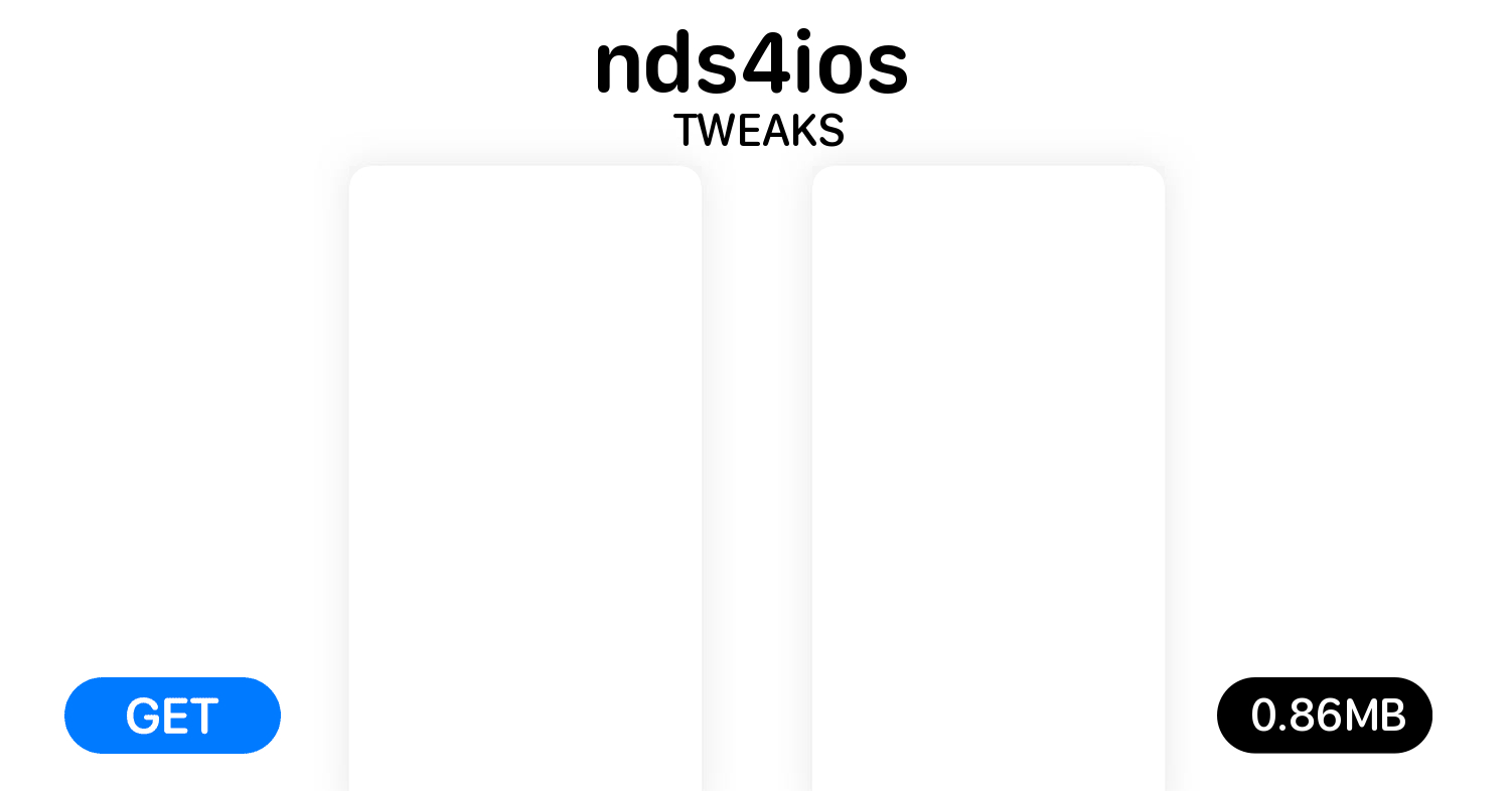 nds4ios (Stable) 2 0-308 - Free Tweaks for iOS on